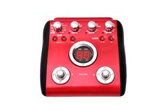 Guitar multi effects pedal Stock Image