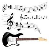 Guitar and music Stock Photos