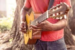 Guitar, Music, Man, Play, Strum Royalty Free Stock Image