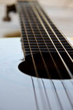 Guitar. Neck of a classical guitar Royalty Free Stock Photo