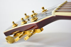 Guitar neck Royalty Free Stock Photo
