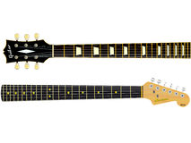 Guitar Necks Stock Images