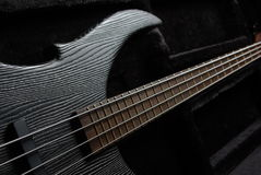 Free Guitar On The Black Stock Images - 22846624