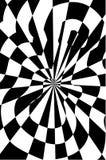 Guitar optical illusion  illustration Stock Images