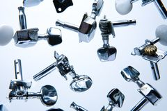 Guitar Parts Royalty Free Stock Photography