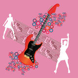 Guitar Party Royalty Free Stock Images