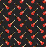 Guitar pattern Royalty Free Stock Photography