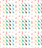 Guitar pattern Stock Photos