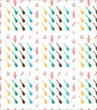 Guitar pattern Stock Photos