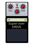 Guitar Pedal Stock Photos