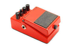 Guitar pedal Royalty Free Stock Image