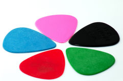 Guitar pick Stock Photos
