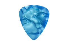 Guitar pick. Colorful guitar pick isolated on the white background stock image