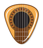Guitar pick Royalty Free Stock Images