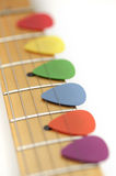 Guitar Picks Stock Image