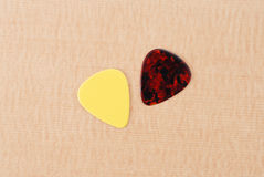 Guitar Picks Royalty Free Stock Images
