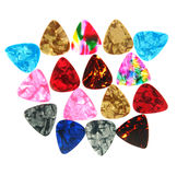 Guitar picks . Royalty Free Stock Photography