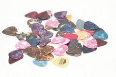 Guitar picks Royalty Free Stock Photos