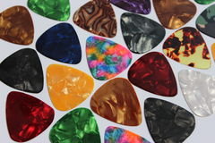 Guitar picks  Stock Images
