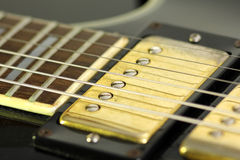 Guitar pickup Royalty Free Stock Image