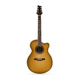 Guitar. Picture of acoustic guitar on white background royalty free illustration