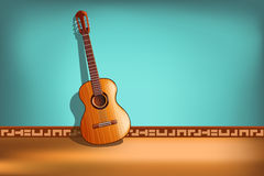 Guitar picture Stock Photo