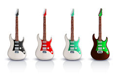 Guitar picture Royalty Free Stock Photos