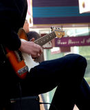 Guitar player royalty free stock photo