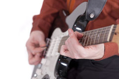 Guitar player Royalty Free Stock Images