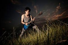 The Guitar Player Stock Photos