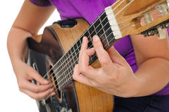 Guitar Player Stock Image