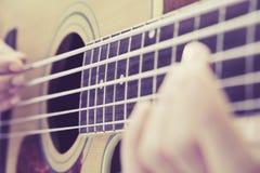 Guitar player Stock Photo