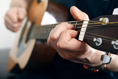 Guitar player Stock Images