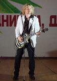 Guitar player Dmitry Khristov Royalty Free Stock Image