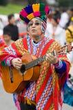 Guitar player from Ecuador Stock Photos