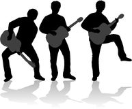 Guitar player vector illustration Royalty Free Stock Images