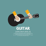 Guitar Playing. Stock Photos