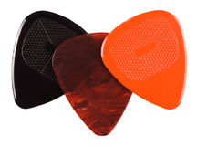 Guitar plectrum set Stock Photography