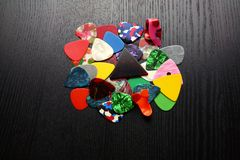 Guitar Plectrums Royalty Free Stock Image