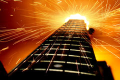 Guitar Power stock images