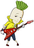 Guitar radish Stock Photography