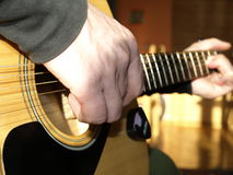 Guitar. RAW format Royalty Free Stock Images