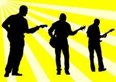 Guitar rock Stock Photography