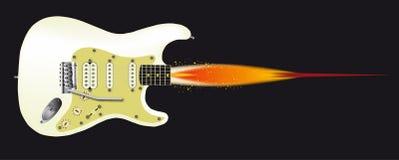 Guitar Rocket Royalty Free Stock Photos