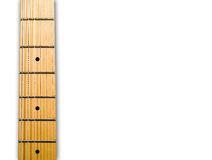 Guitar's neck Royalty Free Stock Image