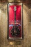 The guitar of Scott Ian (Anthrax) Stock Photo