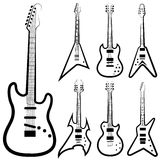 Guitar set Stock Images