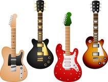 Guitar set 7 Stock Photography