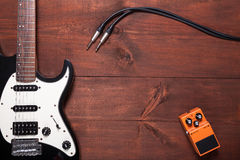 Guitar set Royalty Free Stock Photos