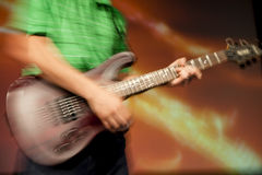 Guitar solo Royalty Free Stock Photos